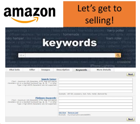 Keywords for Your Amazon Product Listing