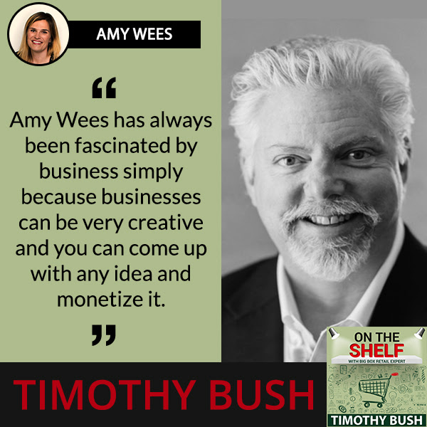 Amy Wees speaks on The Canton Fair Experience on the shelf podcast with Timothy Bush