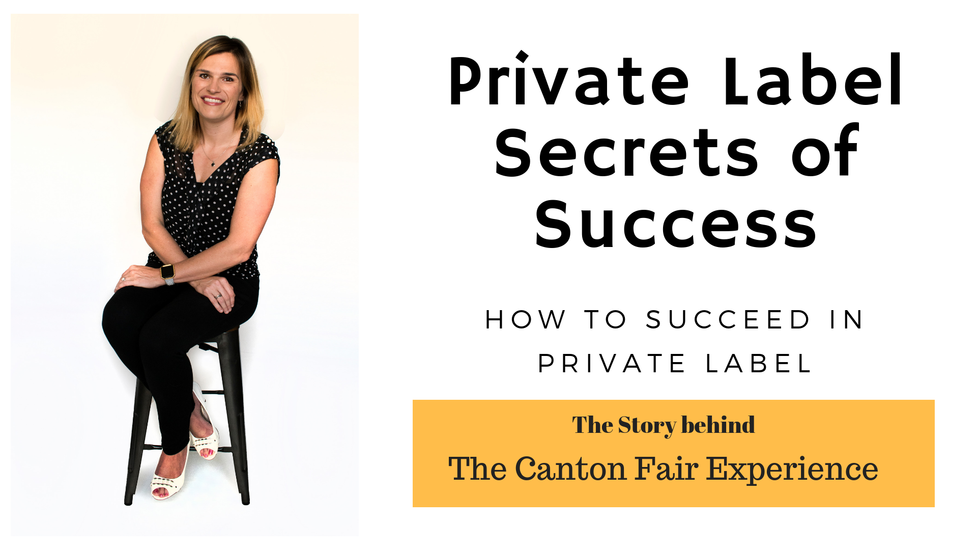 My Secrets to Success in Private Label