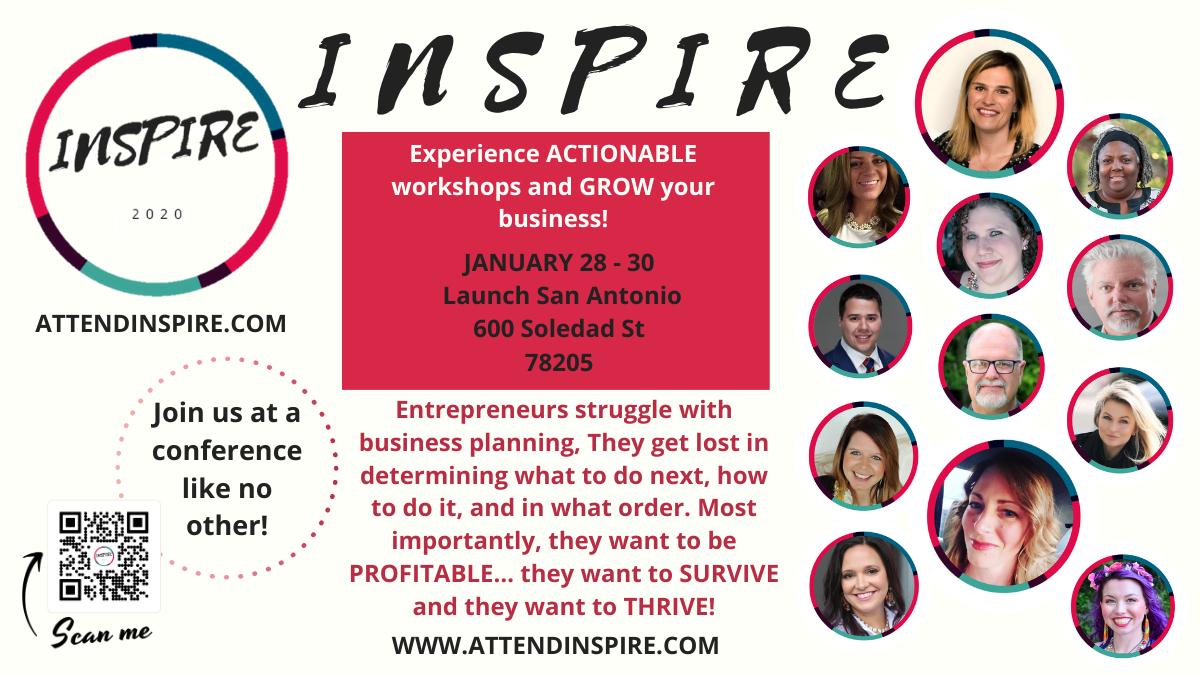 Inspire Conference San Antonio Jan 28 30