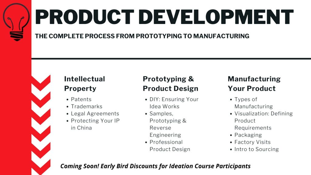 Product Development Course Prototyping to Manufacturing