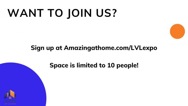 Join Amazing at Home