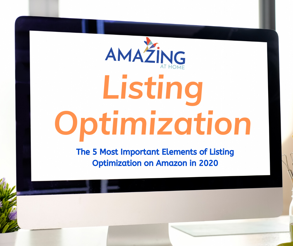 the 5 most important elements of Amazon listing optimization