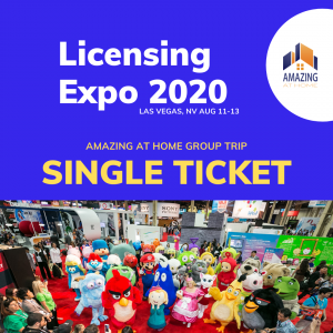 Licensing Expo Group Trip with Amazing at Home single